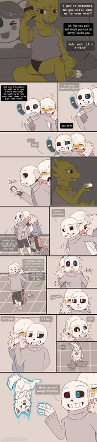 .Undertale Fancomic: Annoying Dog - Page 21.+