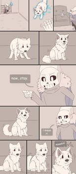 .Undertale Fancomic: Annoying Dog - Page 22.+ by Kintanga