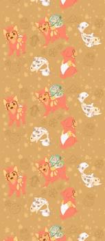 .Good Luck: Tile Wallpaper.+ by Kintanga
