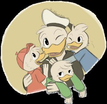 .DuckTales: His boys.+ by Kintanga
