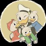 .DuckTales: His boys.+