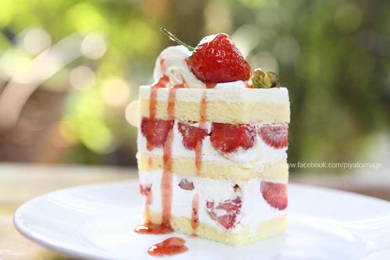 Strawberry Cake by piyato