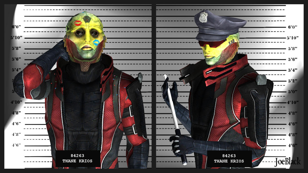 Mugshot - Thane by The-JoeBlack