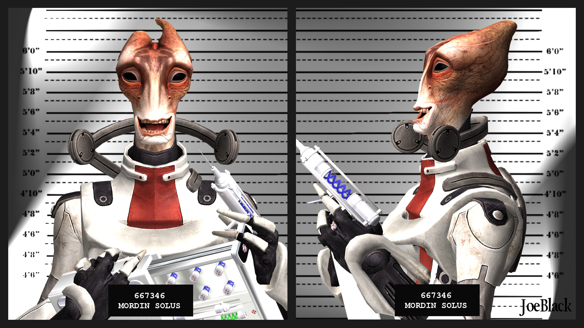 Mugshot - Mordin by The-JoeBlack