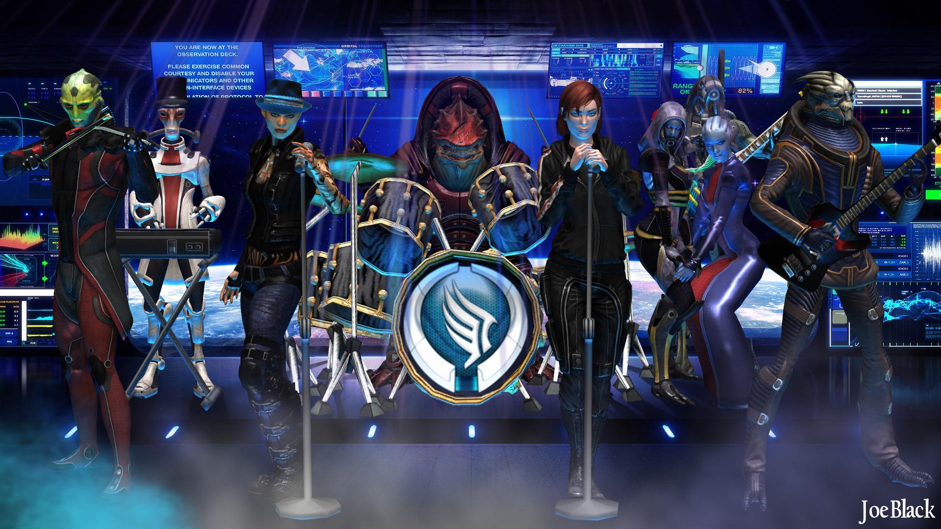 Mass Effect - Paragon Rock by JoesHouseOfArt