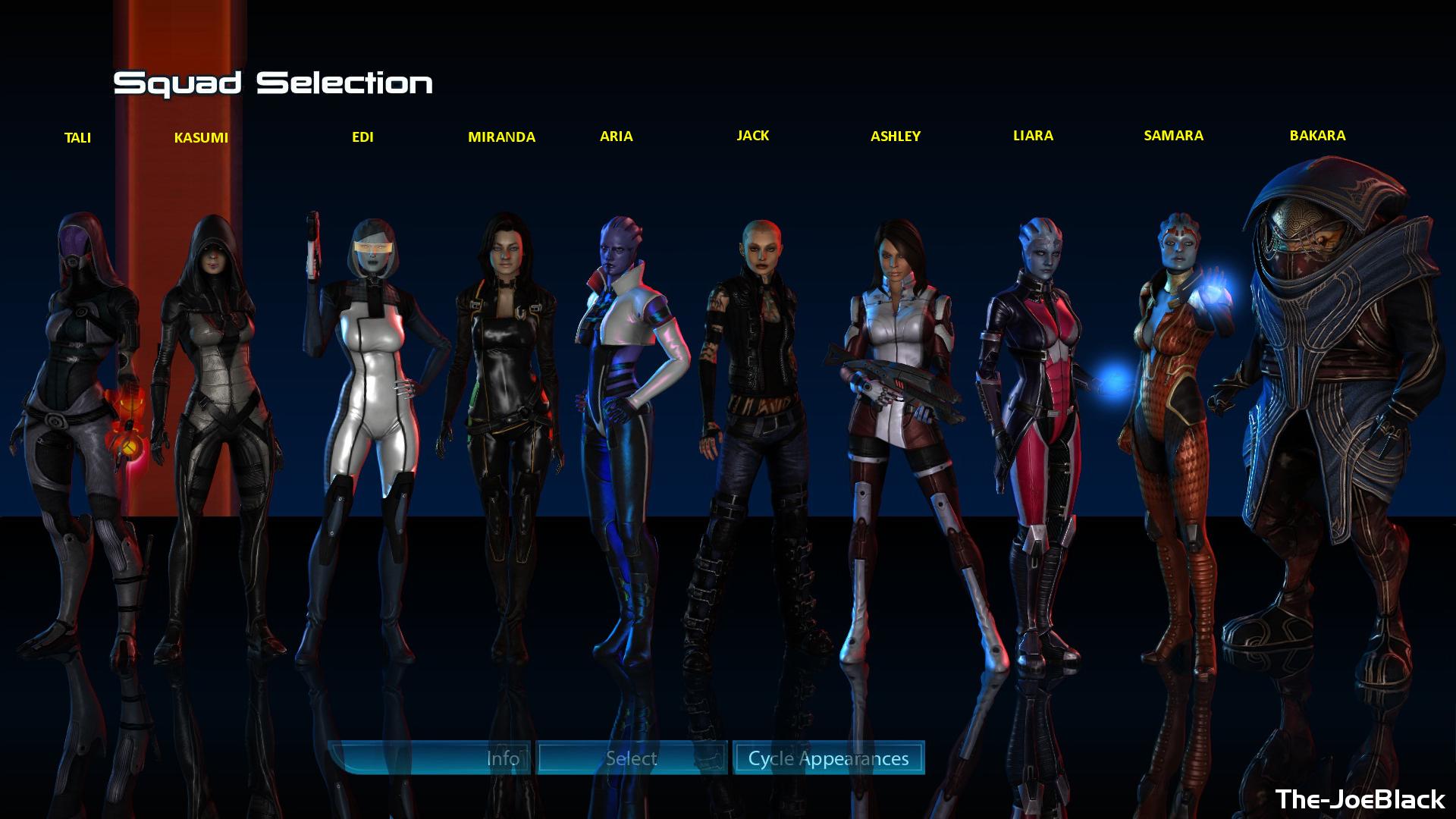 Squad Select - All female by JoesHouseOfArt