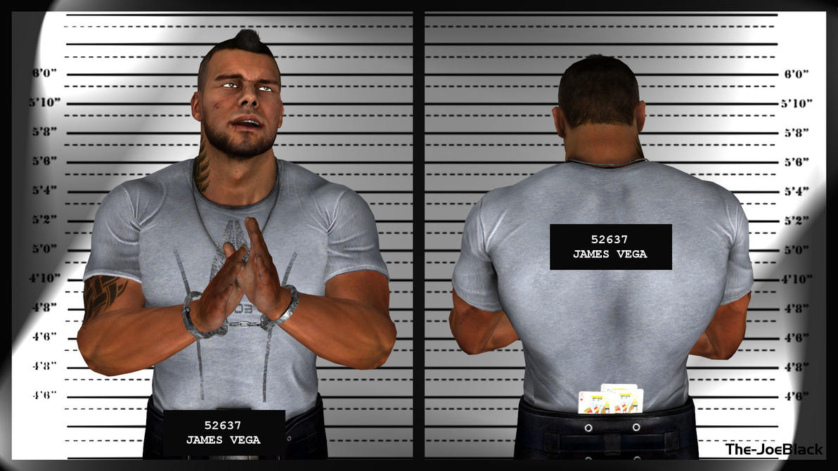Mugshot - James by The-JoeBlack