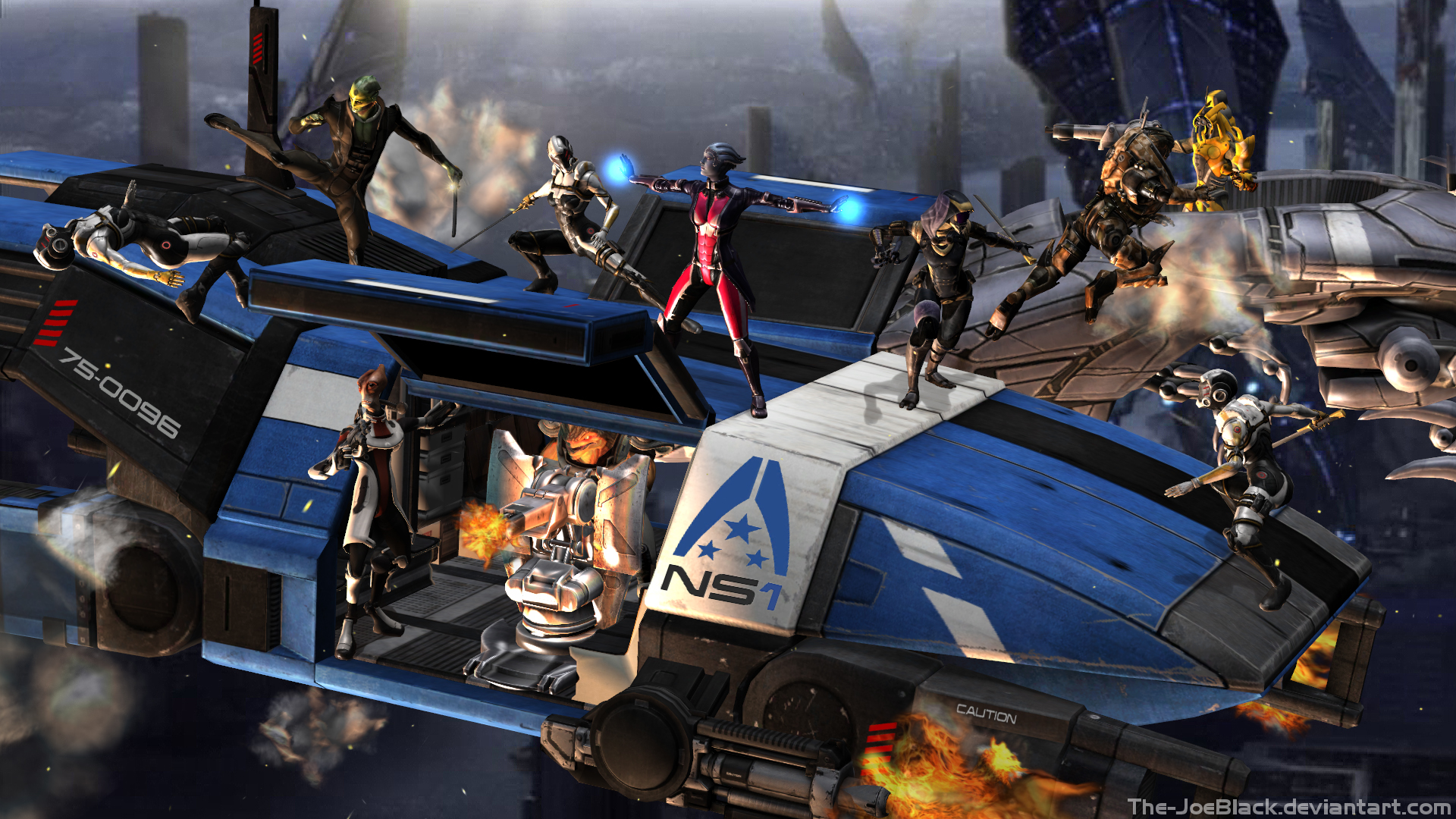 Mass Effect - Who needs the humans by JoesHouseOfArt