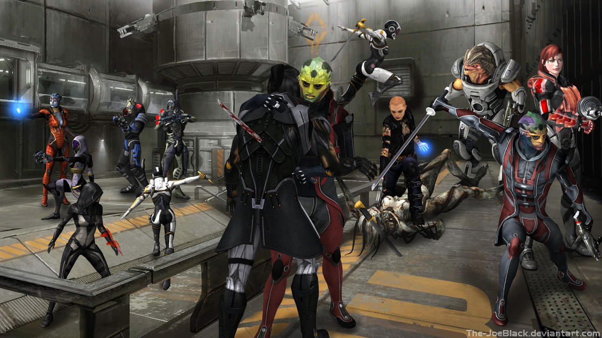 Mass Effect - Thane's revenge by The-JoeBlack