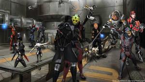 Mass Effect - Thane's revenge by ShaunsArtHouse