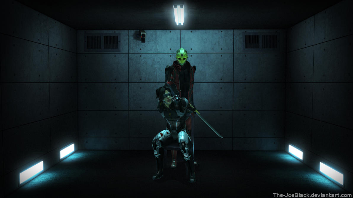 Mass Effect - Interrogation Room by The-JoeBlack