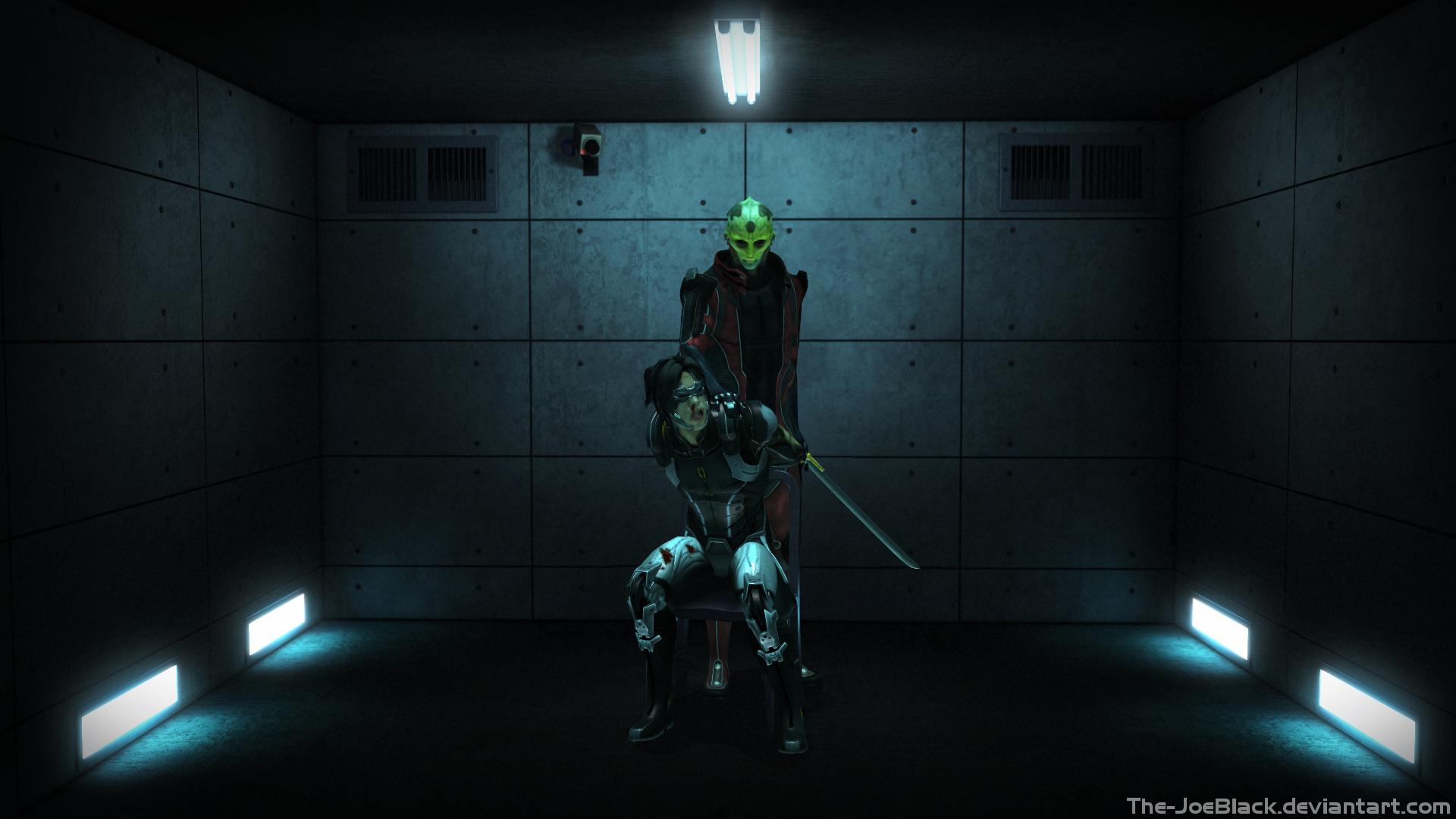 Mass Effect - Interrogation Room by JoesHouseOfArt