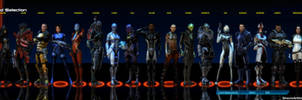 Mass Effect Squad Selection COMPLETE