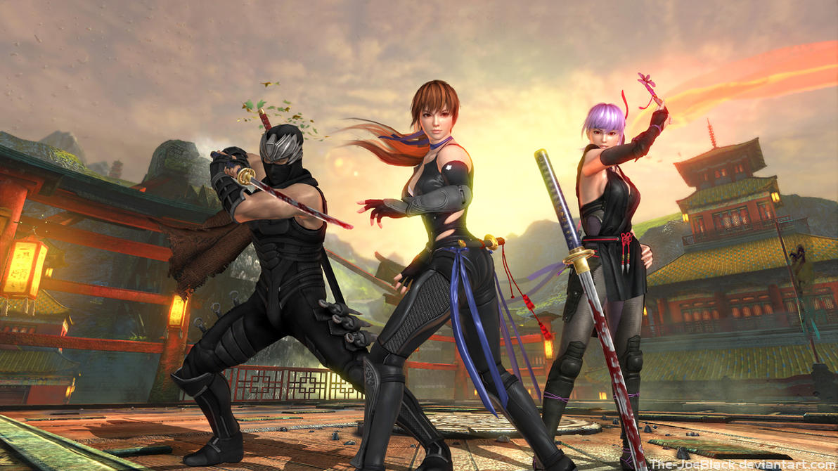 DOA5 - The Ninjas by JoesHouseOfArt