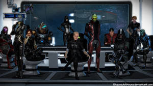 Mass Effect Occitania: The in between team