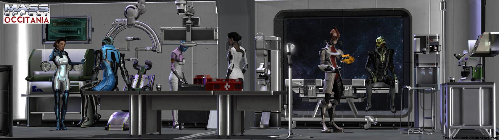 Mass Effect - Occitania: The Medlab by The-JoeBlack