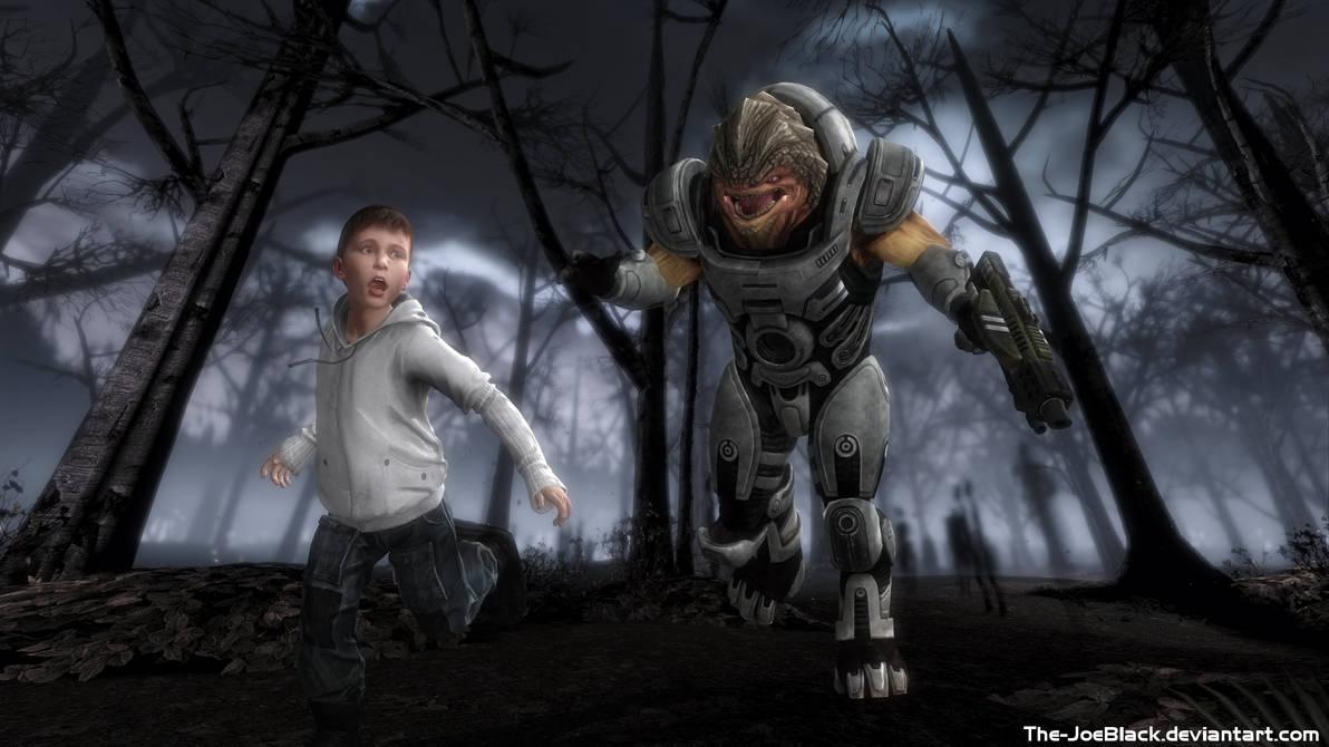 Mass Effect - Grunt's Dream by ShaunsArtHouse