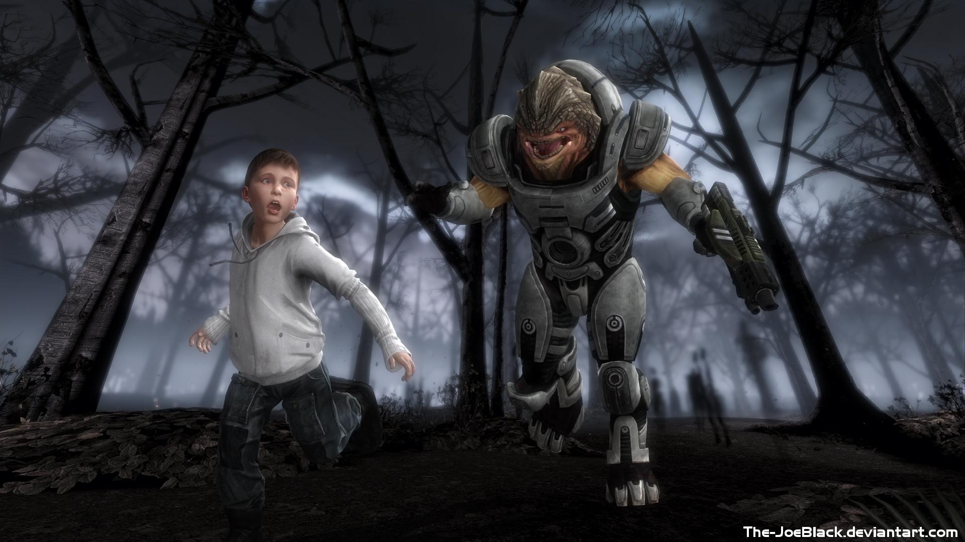 Mass Effect - Grunt's Dream by JoesHouseOfArt