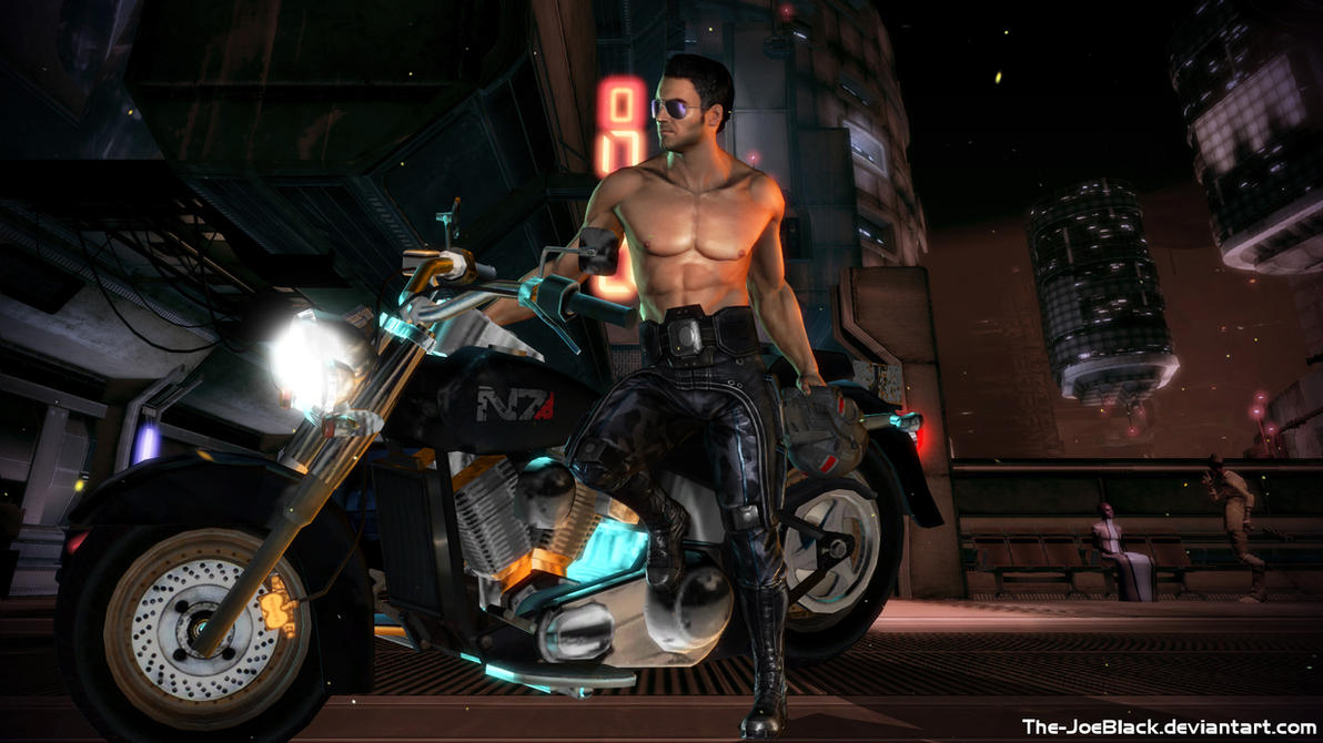 Kaidan on Omega Part 2 by JoesHouseOfArt