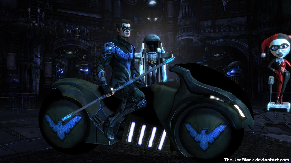 Injustice Nightwing Wallpaper By ShaunsArtHouse