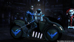Injustice: Nightwing wallpaper