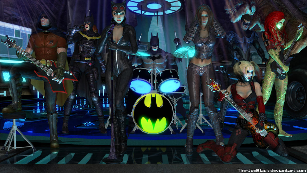 Batman: Arkham Rock by The-JoeBlack