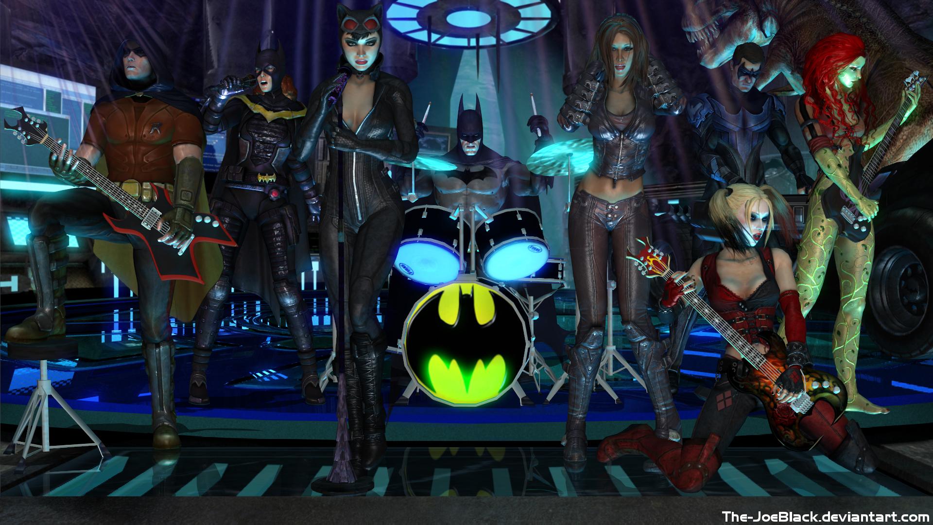 Batman: Arkham Rock by ShaunsArtHouse