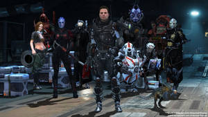 Mass Effect Occitania - The Blood Wolves