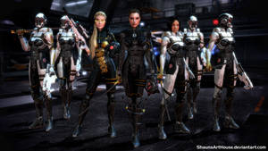 Mass Effect: The Occitania - Crimson Lotus Squad