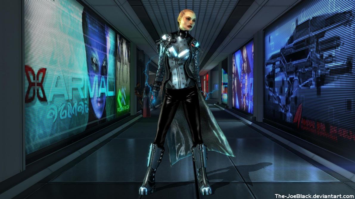 Mass Effect: Jack alt costume concept by JoesHouseOfArt