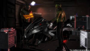 Mass Effect - Garrus and Thane