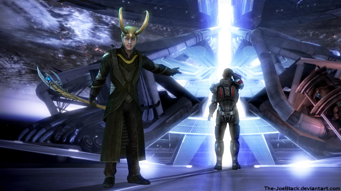 Mass Effect - Loki Ending by JoesHouseOfArt