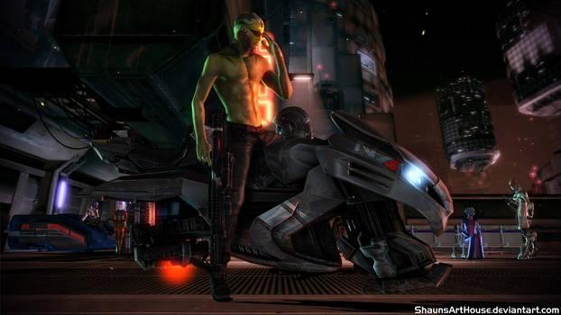 Mass Effect - Thane on Omega
