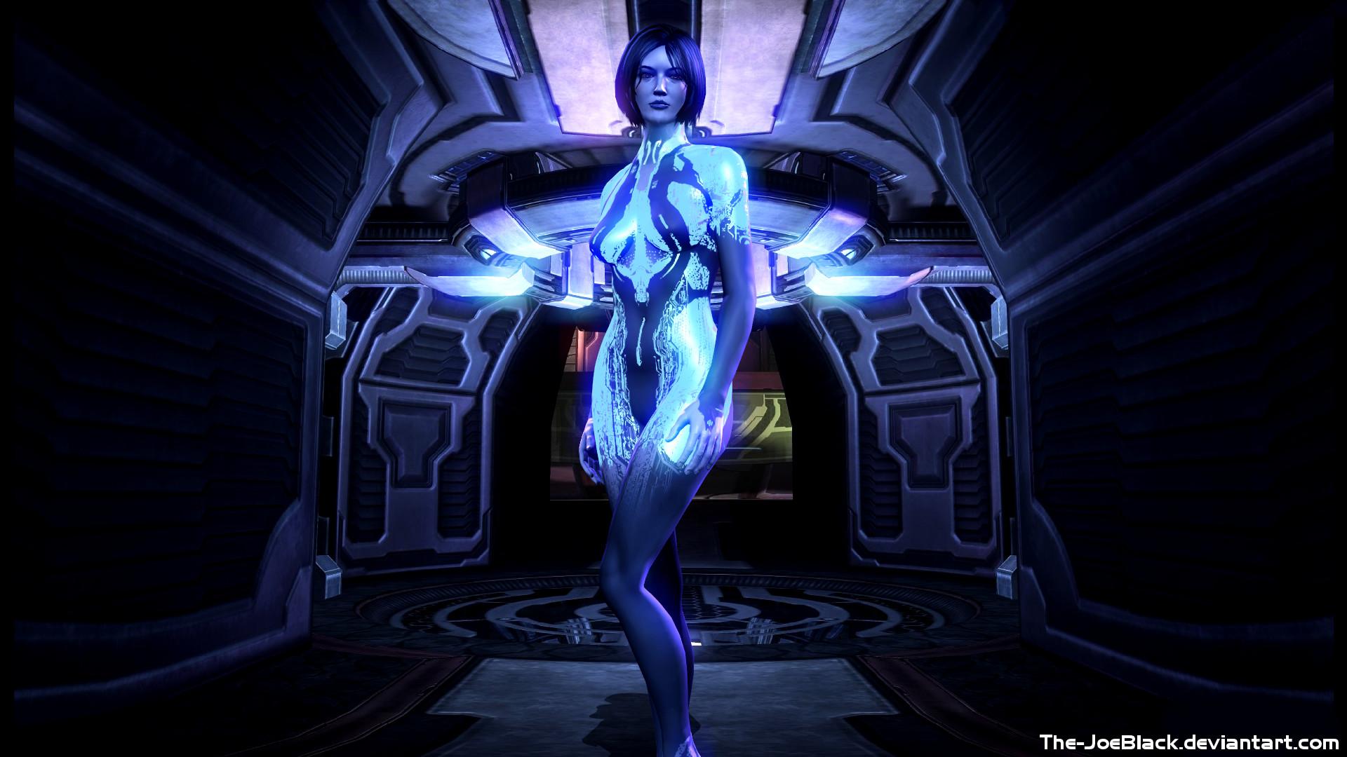 Halo 4 Cortana Wallpaper By Shaunsarthouse On Deviantart