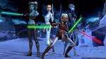 Star Wars - Clone Wars: The Girls