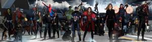 Avengers MCU - Dual Screen Wallpaper