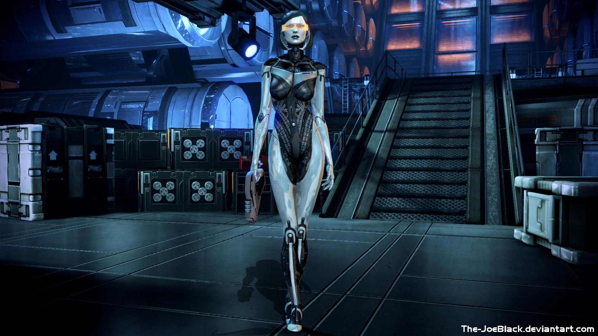 Mass Effect - EDI wallpaper by ShaunsArtHouse on DeviantArt