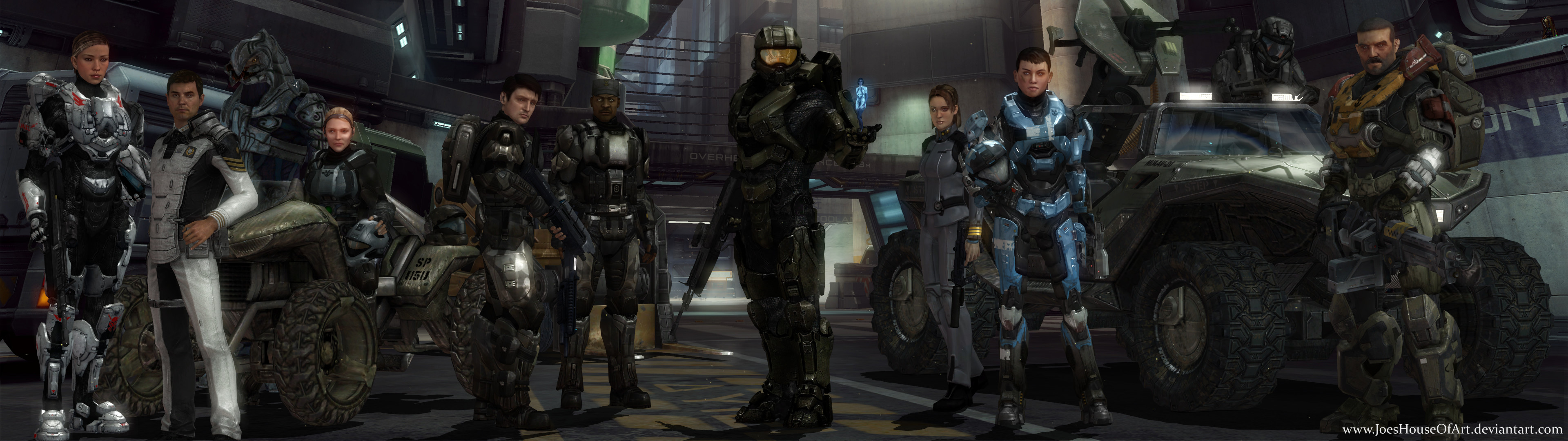 Legends Of Halo Dual Screen Wallpaper By ShaunsArtHouse