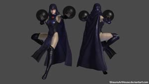 Teen Titans - Raven custom model