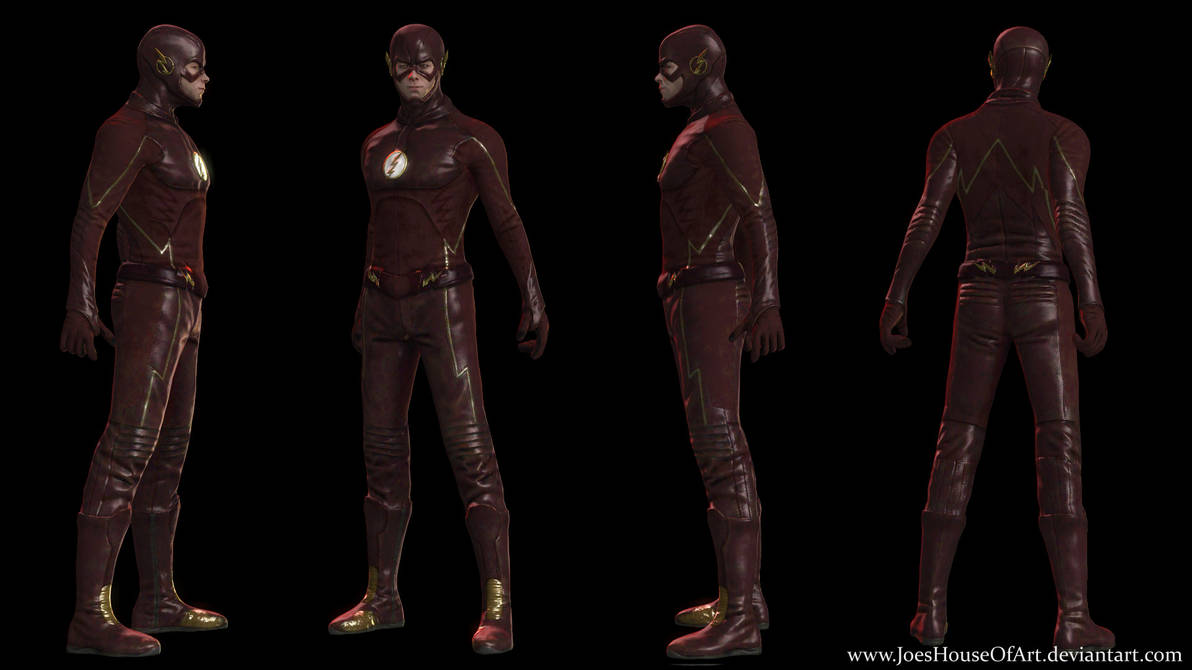CWVerse: The Flash - Grant Gustin by ShaunsArtHouse on DeviantArt