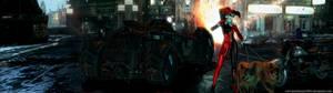 Arkham - The Batman Villains Dual Screen Wallpaper