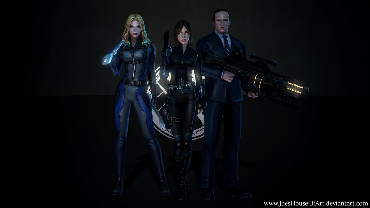 marvel's agents of shield - game wallpapershaunsarthouse on