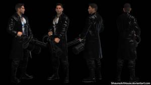 Punisher Netflix - Jon Bernthal custom 3d model by ShaunsArtHouse