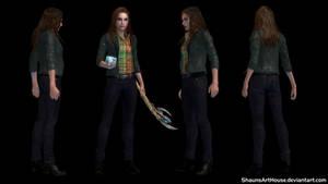 Jane Foster - Natalie Portman custom model by ShaunsArtHouse
