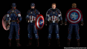 Captain America - Chris Evans custom model by ShaunsArtHouse