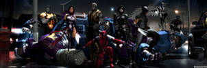 X-Force Movie Dual Screen Wallpaper by ShaunsArtHouse