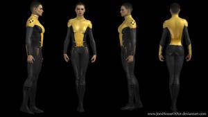 Negasonic Teenage Warhead movie custom 3D model by ShaunsArtHouse