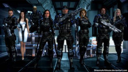 Mass Effect Occitania - The Marines
