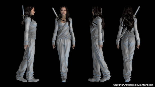 Jessica Henwick - Colleen Wing custom 3d model