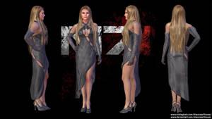 Mass Effect Occitania 2: Belladonna Dress